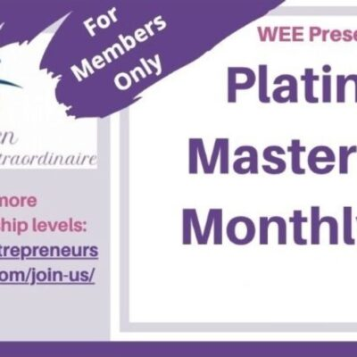 The WEE March Platinum & Expert Level Mastermind Call